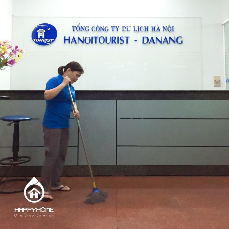 Dịch vụ vệ sinh tòa nhà Đà Nẵng