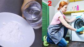 Vệ sinh máy giặt bằng Baking Soda – Mẹo hay tại nhà