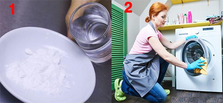 Vệ sinh máy giặt với Baking Soda như thế nào